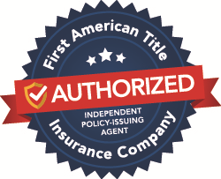 First American Title Insurance Company Authorized Independent Policy Issuing Agent